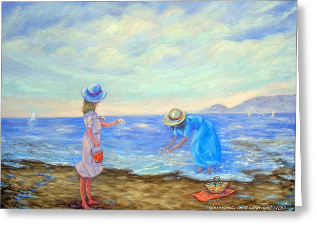 Summer By The Sea... Greeting Card