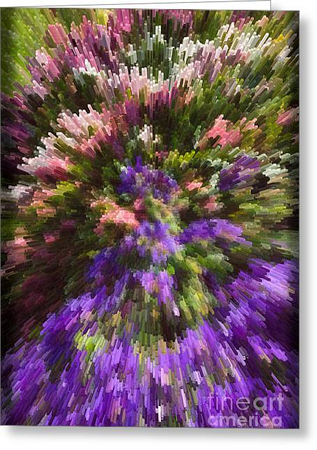 Greeting Card featuring the photograph Summer Carpet by Liz  Alderdice