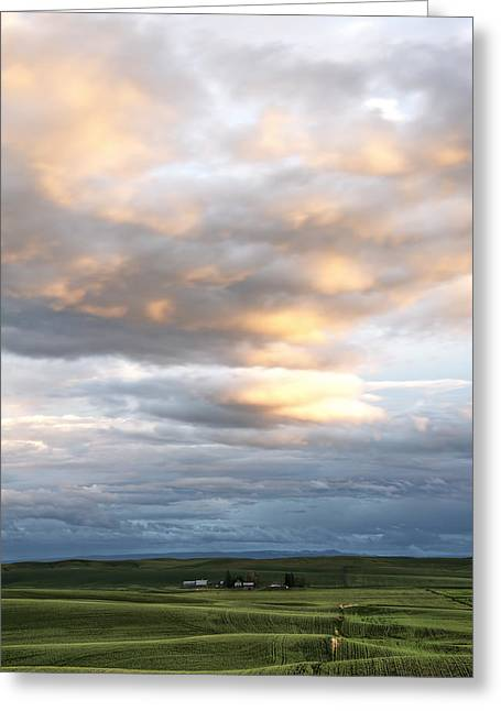 Summer Clouds Greeting Card