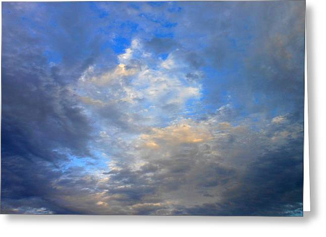 Summer Clouds Greeting Card by Kay Gilley