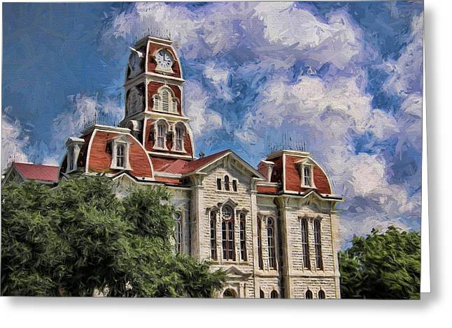 Summer Courthouse Greeting Card