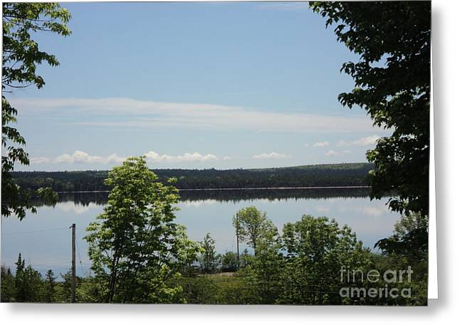 Summer Day In Cape Breton Greeting Card