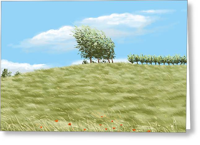 Summer Day Greeting Card by Veronica Minozzi