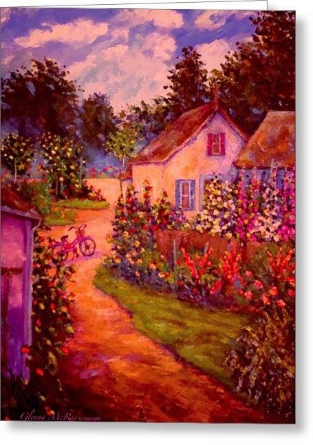 Summer Days At The Cottage Greeting Card