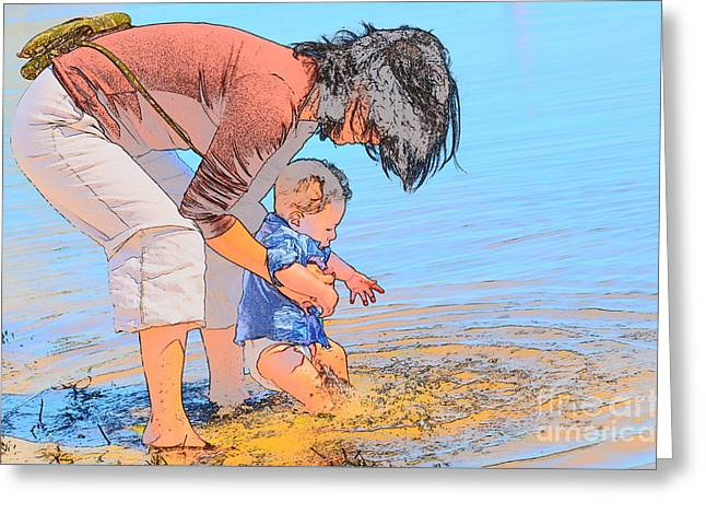 Summer Days Greeting Card by Jim Cook