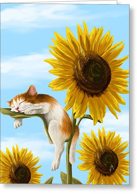 Summer Dream Greeting Card by Veronica Minozzi