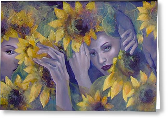 Summer Fantasy Greeting Card by Dorina  Costras