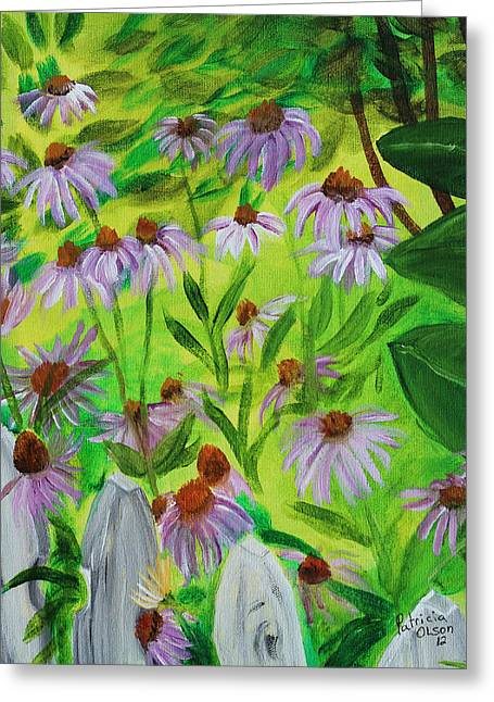 Summer Flowers In Peculiar Mo. Greeting Card