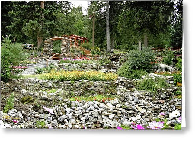 Greeting Card featuring the photograph Summer Garden by Margaret Buchanan