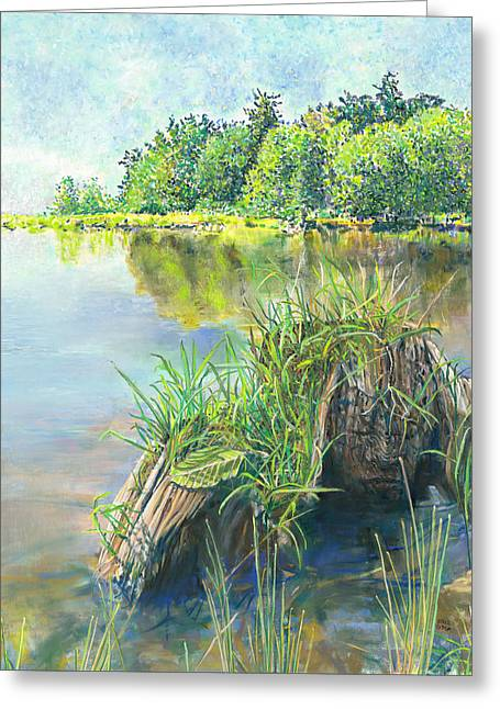 Summer Grasses Greeting Card