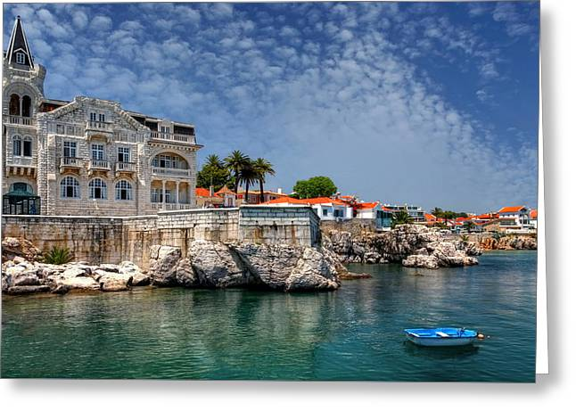 Summer In Cascais Greeting Card by Carol Japp