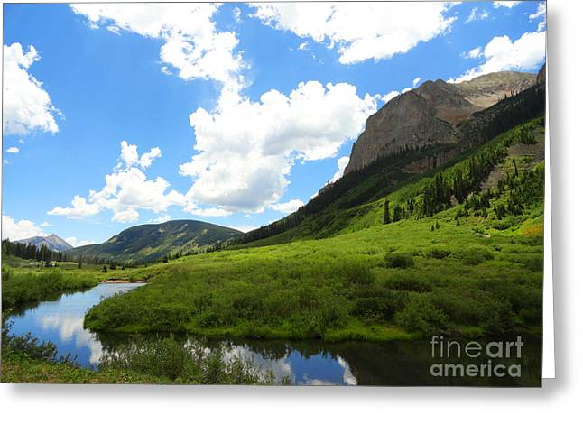 Summer In Crested Butte Greeting Card