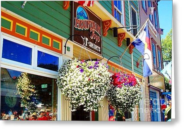 Summer In Crested Butte Greeting Card by Trisha Buchanan