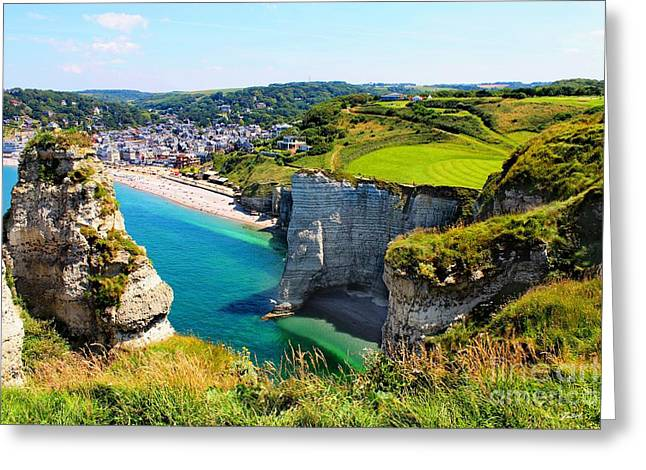 Summer In Normandy Greeting Card