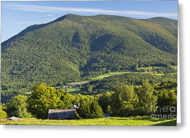 Summer In The Green Mountains Greeting Card