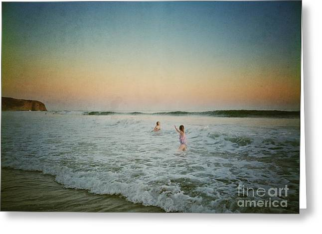 Summer In The Pacific Greeting Card by Traci Lehman