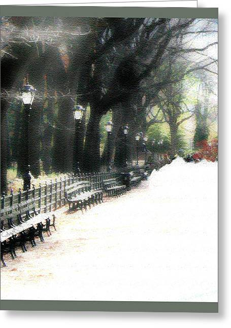 Summer In The Winter Greeting Card