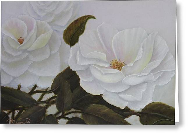 Summer In White Greeting Card