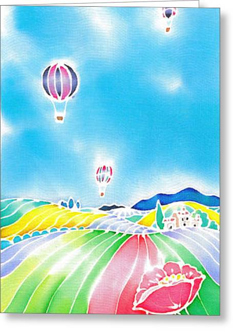 Summer Lights Greeting Card