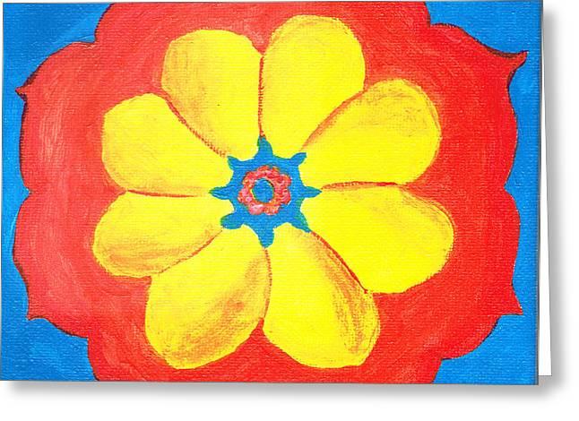 Summer Mandala Greeting Card