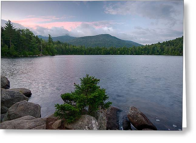 Summer Morning On Copperas Pond Greeting Card by Panoramic Images
