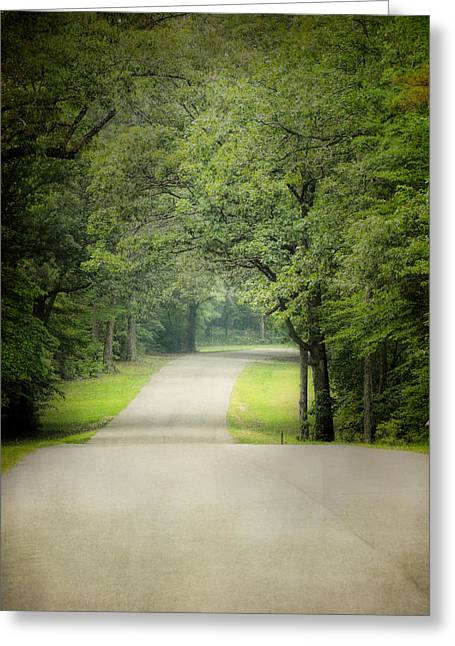 Summer Morning Stroll Greeting Card