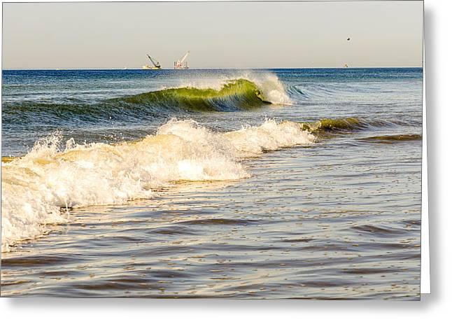 Summer Ocean Scene 1 Greeting Card