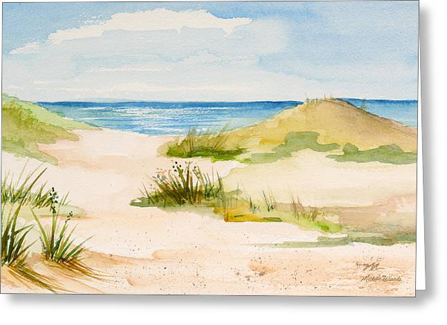 Summer On Cape Cod Greeting Card