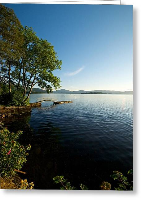 Greeting Card featuring the photograph Summer On Loch Lomond by Stephen Taylor