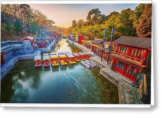 Summer Palace Beijing Greeting Card