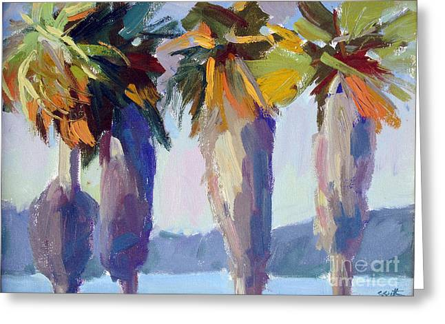 Summer Palms Greeting Card
