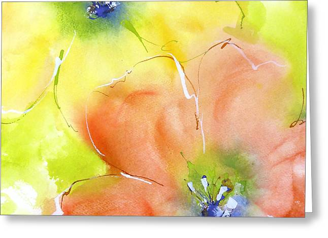 Summer Poppies 2 Greeting Card