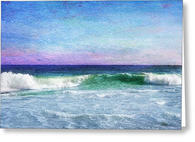Summer Salt Greeting Card by Laura Fasulo