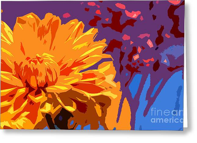 Summer Scene Greeting Card by Liesl Marelli
