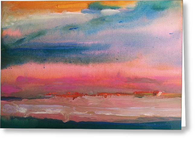 Summer Seascape Greeting Card