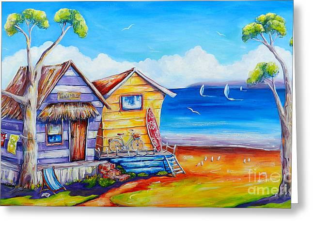 Summer Shacks Greeting Card