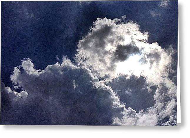Summer Sky  Greeting Card
