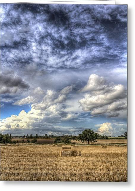 Summer Sky Farm Greeting Card