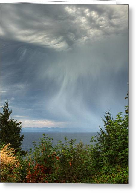 Summer Squall Greeting Card