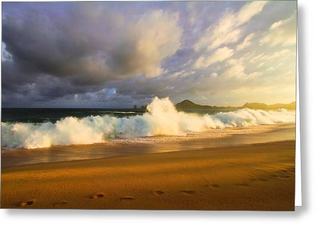 Greeting Card featuring the photograph Summer Storm by Eti Reid