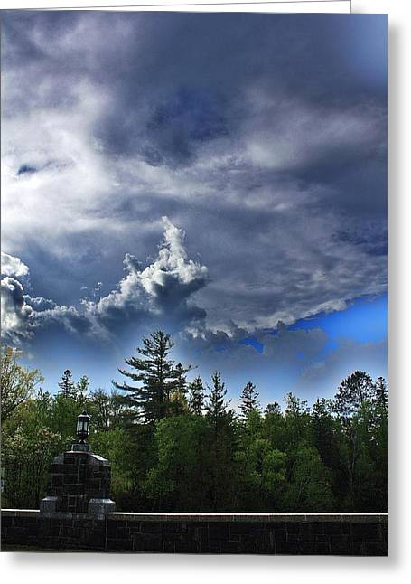 Summer Storm Greeting Card by Paul Berish