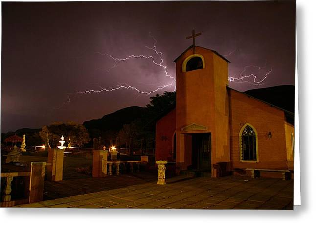 Greeting Card featuring the photograph Summer Storm by Riana Van Staden