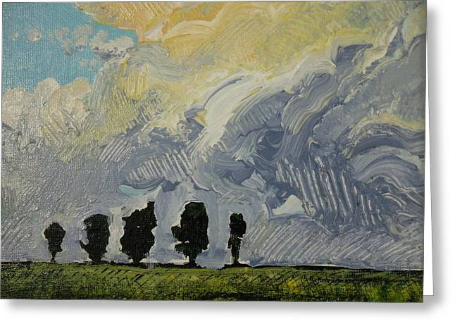 Summer Storm Greeting Card by Rodger Ellingson