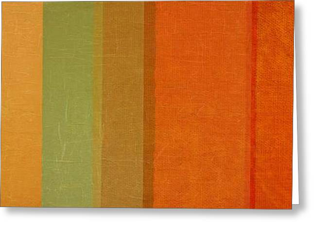 Summer Stripes Greeting Card by Michelle Calkins