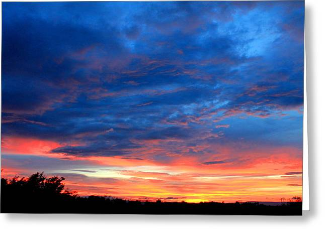 Greeting Card featuring the photograph Summer Sunset by Candice Trimble