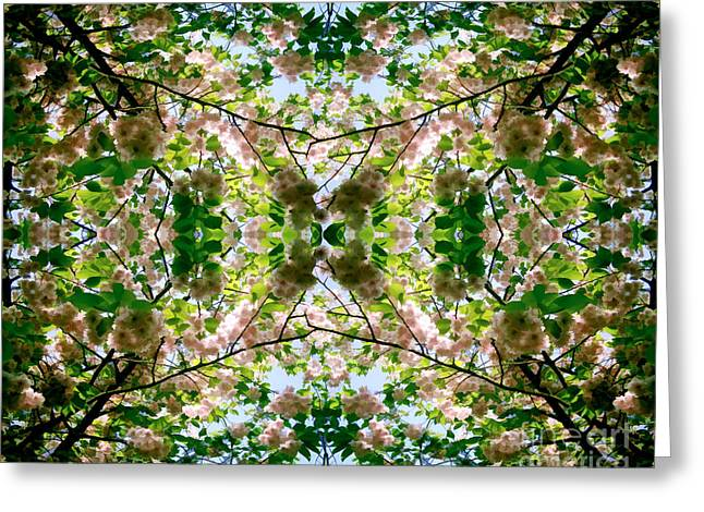 Summer Symmetry Greeting Card