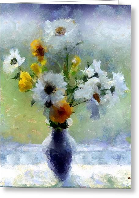 Summerstorm Still Life Greeting Card
