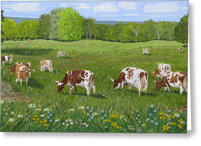 'summertime And The Living Is Easy' Greeting Card