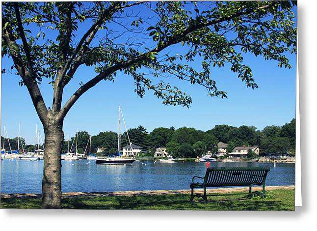 Greeting Card featuring the photograph Summertime At The Marina by Aurelio Zucco