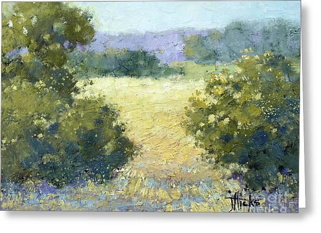 Summertime Landscape Greeting Card